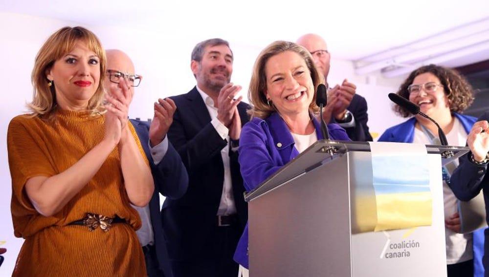 La candidata de Coalición Canaria al Congreso de los Diputados, Ana Oramas