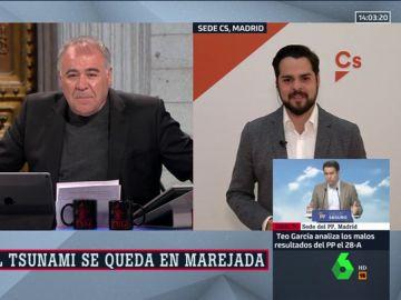Fernando de Páramo, secretario de Comunicación de Cs