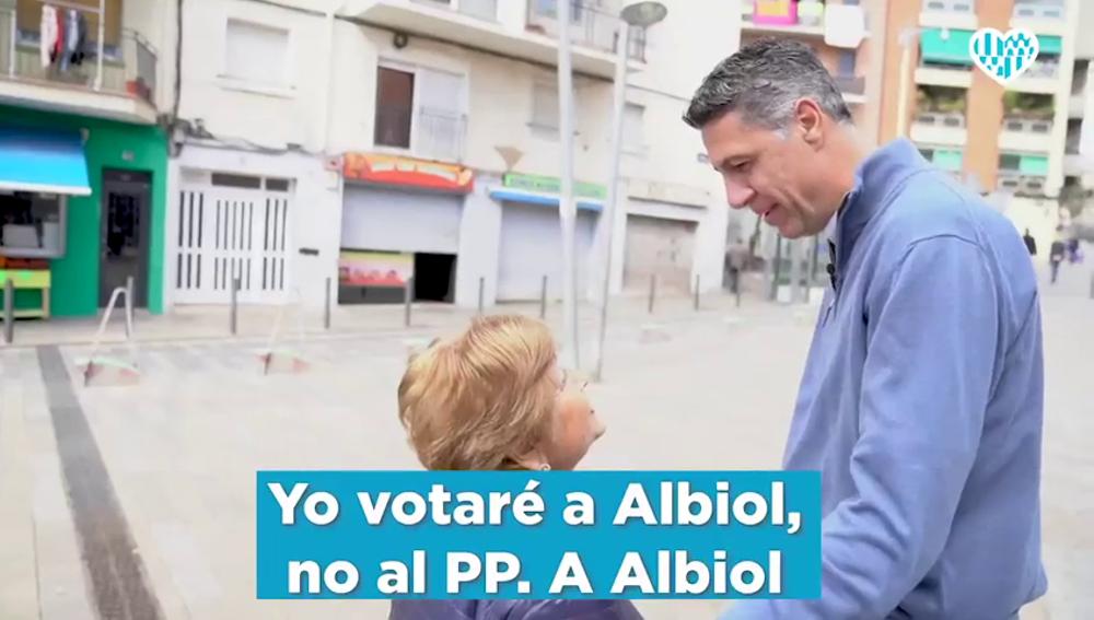 """Albiol lanza un vídeo pidiendo el voto a su """"persona"""" y """"no al PP"""" el 26M tras los resultados de las generales"""