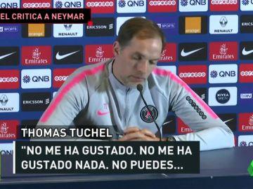 Tuchel carga contra Neymar