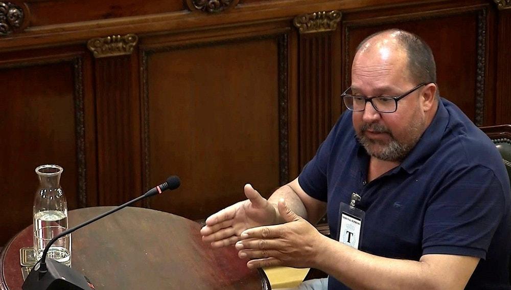 """Declaración de Santi Valls, durante la 38 jornada del juicio del """"procés"""""""