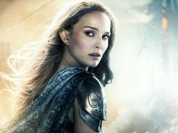 Natalie Portman interpretando a Jane Foster