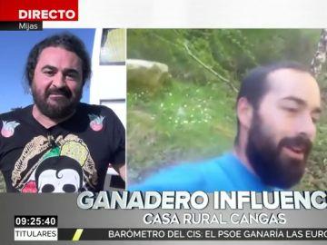 """El Sevilla muestra su apoyo al """"ganadero influencer"""" de Cangas de Onís: """"Tiene razón en su queja"""""""
