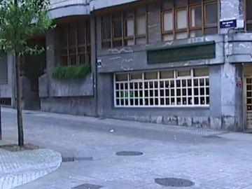Imagen de la zona donde se produjo el apuñalamiento a un hombre en Guipúzcoa
