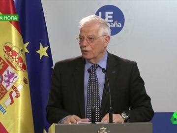 """Borrell resta importancia a la reunión entre Guaidó y Leopoldo López en la embajada de España: """"Fue un encuentro rutinario"""""""