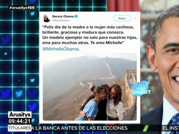 La bonita declaración de amor de Barack Obama a Michelle por el Día de la Madre