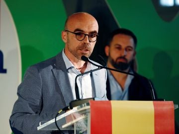 El candidato de Vox al Parlamento Europeo, Jorge Buxadé