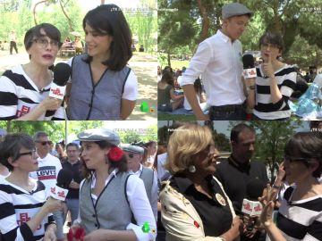 Thais Villas se va de verbena de San Isidro con los políticos