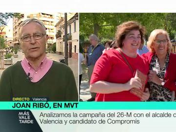 """Joan Ribó: """"Manuela Carmena tienen una edad avanzada pero es más joven que los que lucen de juventud pero su mente es vieja, caduca y obsoleta"""""""