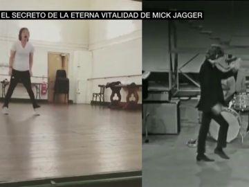 El secreto de la eterna vitalidad de Mick Jagger: así bailaba hace 55 años y así lo hace ahora