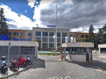 Fábrica de Iveco en Madrid