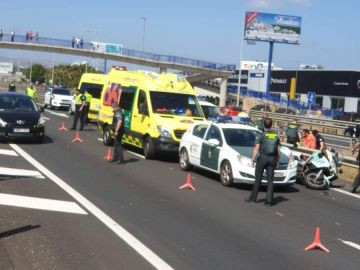 Un agente de la Guardia Civil ha fallecido en servicio en un accidente de tráfico