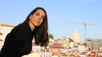 Ruth Lorenzo, en uno de los miradores de Lisboa