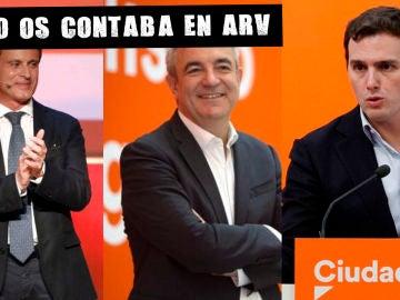 Valls, Garicano y Rivera