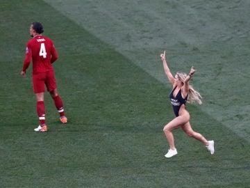 Kinsey Wolanski, en la final de Champions
