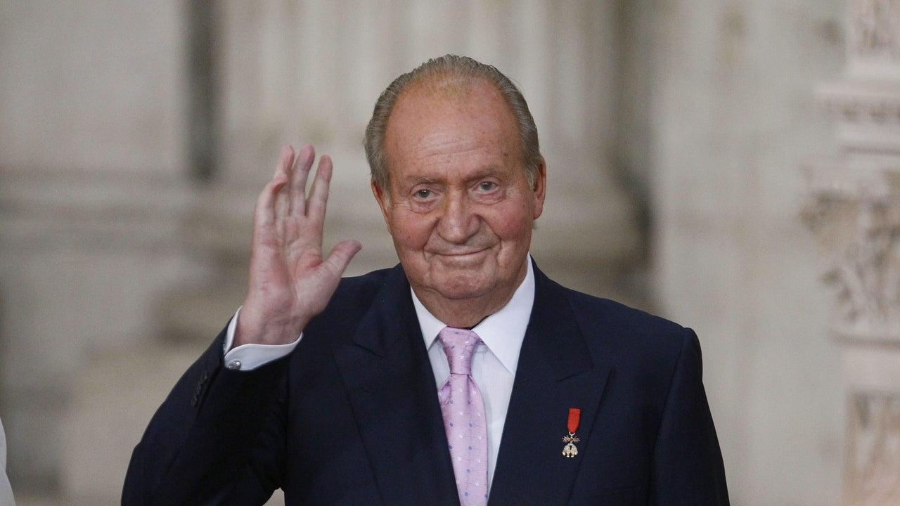 Fotografía de archivo del Rey emérito Juan Carlos I