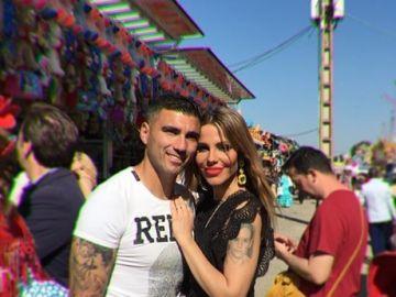José Antonio Reyes y su mujer, Noelia
