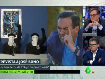 """José Bono no pactaría con Bildu en ninguna situación: """"Con los herederos de ETA yo no quiero nada"""""""