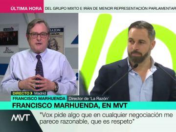 """Francisco Marhuenda: """"¿Qué es Vox? Es el PP sin complejos"""""""