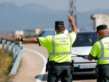 Control de la Guardia Civil de Tráfico