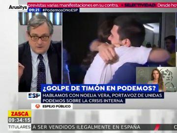 """La crítica de Marhuenda a Pablo Iglesias tras las """"puñaladas"""" de Errejón, Espinar y Bescansa: """"Por tonto y buena persona"""""""