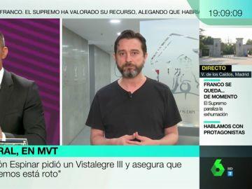 """Rafael Mayoral responde a Ramón Espinar, que pide la refundación de Podemos: """"Los trabajadores no tienen tiempo para que hablemos de nosotros"""""""