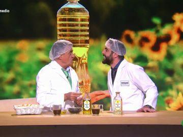 """Dani Mateo analiza las contradicciones de los estudios alimenticios: """"A este paso me veo friendo patatas en aceite Johnson"""""""