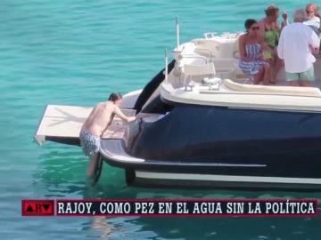 Las vacaciones en Ibiza de Rajoy