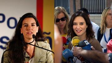 Rocío Monasterio e Isabel Díaz Ayuso