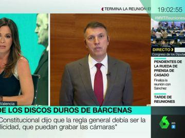 """Joaquim Bosch, sobre la prohibición de televisar el juicio de los ordenadores de Bárcenas: """"Los partidos deberían de ser trasparentes y no esconderse"""""""