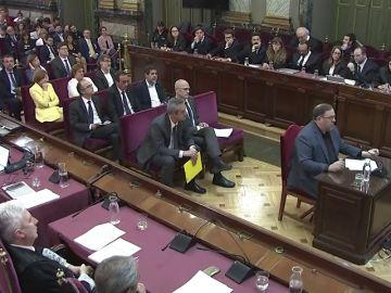 Imagen del juicio del 'procés' (Archivo)