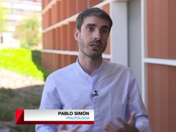 """Pablo Simón da las claves para entender el Gobierno de cooperación de PSOE y UP: """"..."""