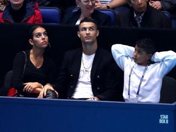 Georgina Rodríguez, Cristiano Ronaldo y su hijo