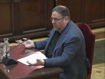 El exvicepresidente de la Generalitat Oriol Junqueras