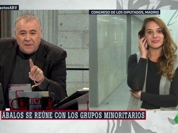 """Noelia Vera define qué es y cómo funcionaría un Gobierno de cooperación para Podemos: """"Que cada uno use la fórmula con la que se sienta más cómodo"""""""