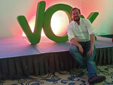 Ángel Bordas, coordinador de Vox en Sevilla