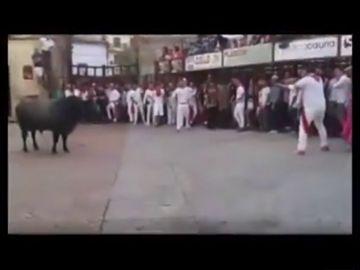 Las impactantes imágenes de la muerte de un toro por un disparo en las fiestas de Coria, Cáceres