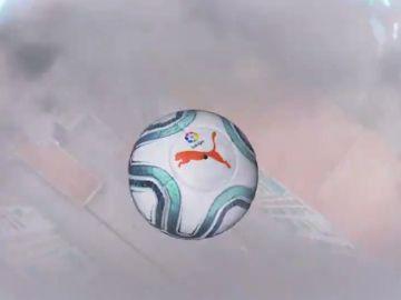 El nuevo balón Puma de LaLiga