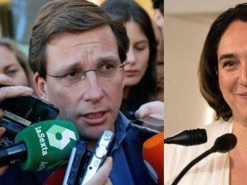Martínez Almeida y Ada Colau