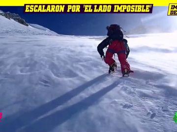 """"""""""": la épica hazaña de dos escaladores españoles en el Monte Denali de Alaska"""