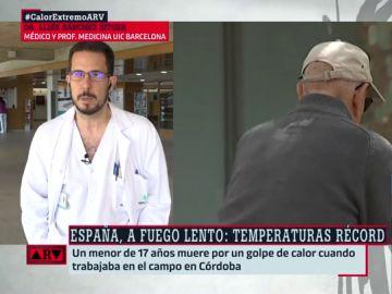 El doctor Lluís Sánchez Sitges