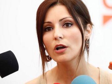 Lorena Roldán en declaraciones a los medios