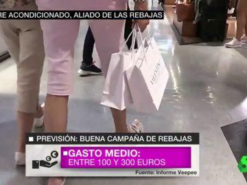 Las mejores rebajas de verano de la década: cada persona se gastará entre 100 y 300 euros