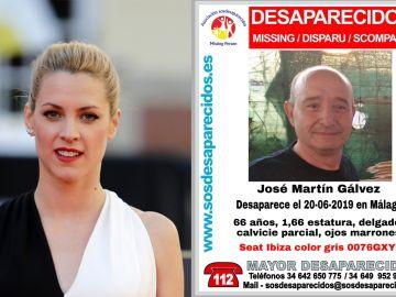 La actriz Maggie Civantos y su familiar desaparecido