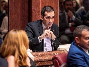El portavoz de Vox en la Asamblea Regional de Murcia, Juan José Liarte