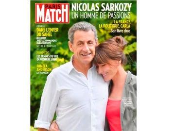 Portada Nicolas Sarkozy y Carla Bruni