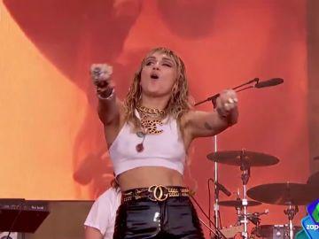 El concierto de Miley cyrus en Glastonbury del que todo el mundo habla