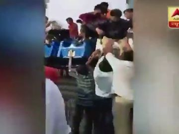 Las terribles imágenes de los instantes posteriores al accidente de la atracción en India