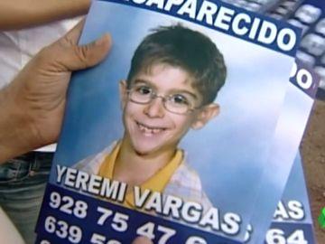 Yeremi Vargas, el niño que desapareció de Vecindario, Gran Canaria, hace 12 años.