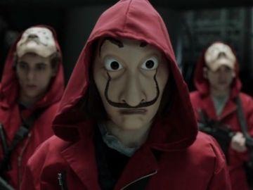 Algunos de los personajes de 'La casa de papel'